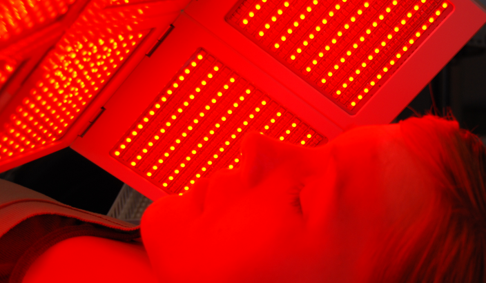 Red LED treatment