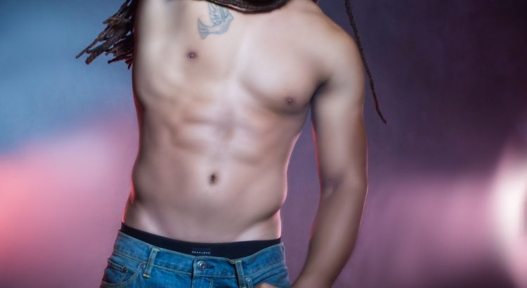 Muscle definition in a man can be achieved with body contouring