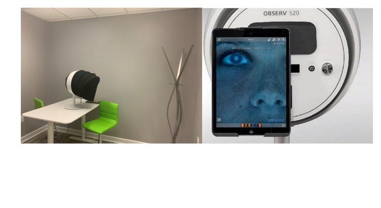 Skin Analysis device used during AnewSkin Program